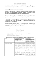 Espace Sportif – reglement interieur modifie